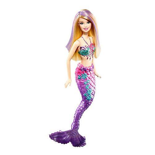"Barbie Color-Change Mermaid - Purple - Mattel - Toys ""R"" Us"
