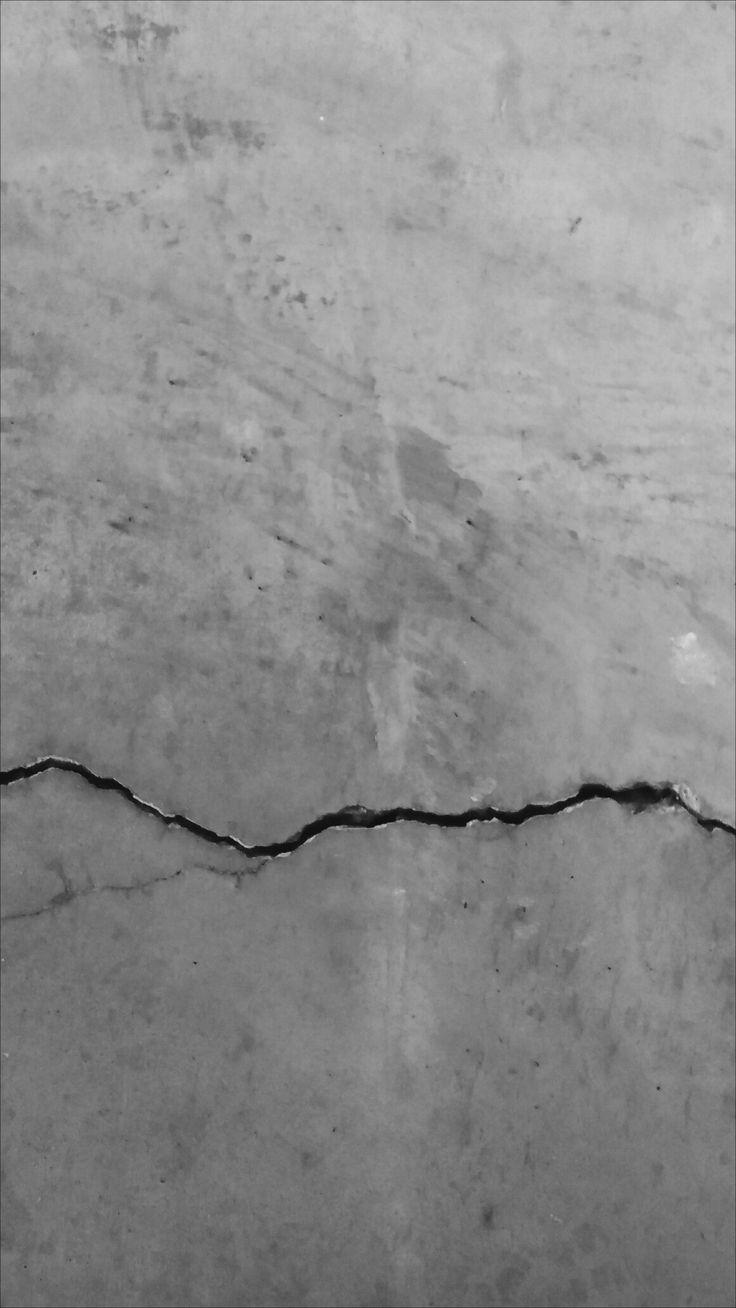 dynamische gebroken lijn in de betonnen vloer