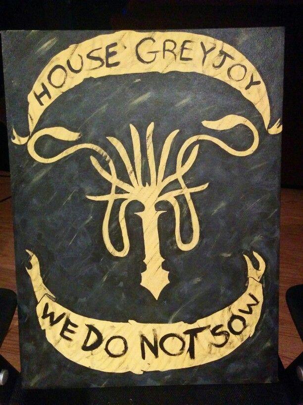 Greyjoy Canvas January 2016
