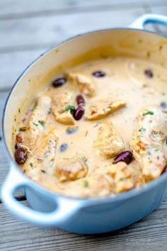 Kyckling i krämig citron, rosmarin och- vitlökssås | 5 6 k i l o . s e | Bloglovin'