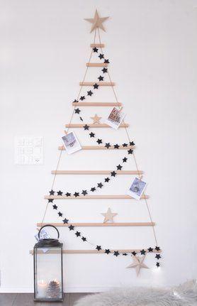 Weihnachtsbaum-DIY....Foto: Schönsinn #decoration #dekoration #weihnachtsdeko #christmasdecoration