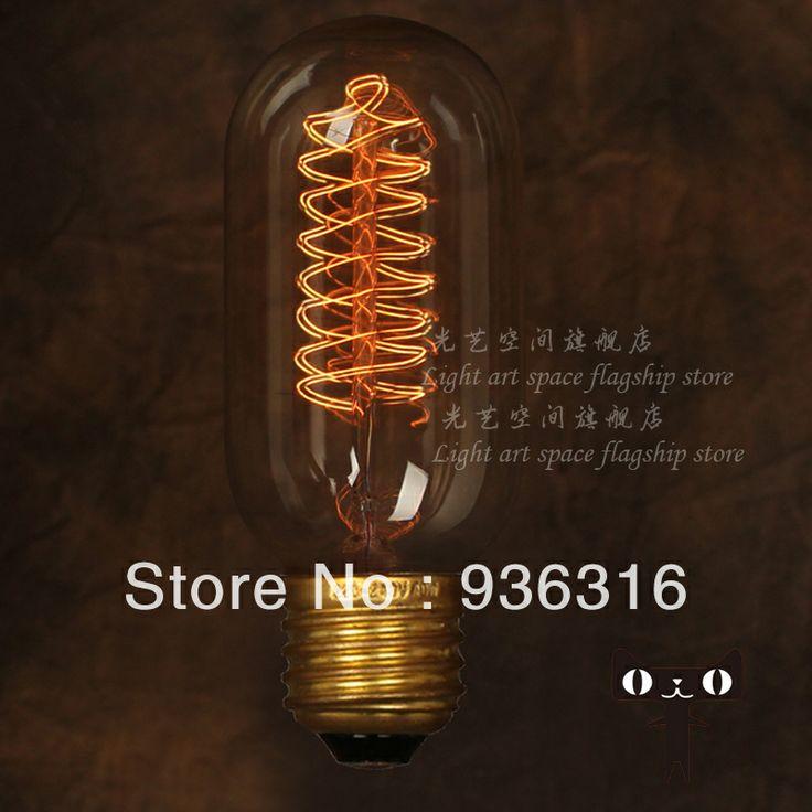 送料無料e27エジソン電球の電球フィラメントの花火の光電球装飾的なレトロレトロバー人格創造的なテーブルランプ