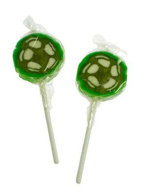 Voetbal lolly's, lekkere snoeptraktatie voor een voetbalfeestje!