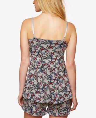 Motherhood Maternity Nursing Pajama Set - Butterfly Print XL