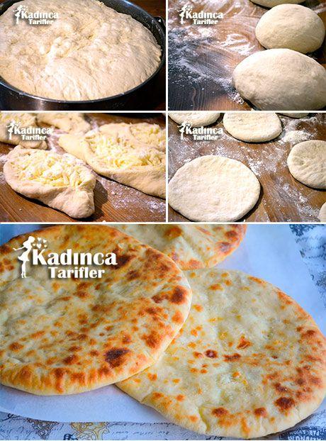 Haçapuri Tarifi (Peynirli Gürcü Pidesi), Nasıl Yapılır