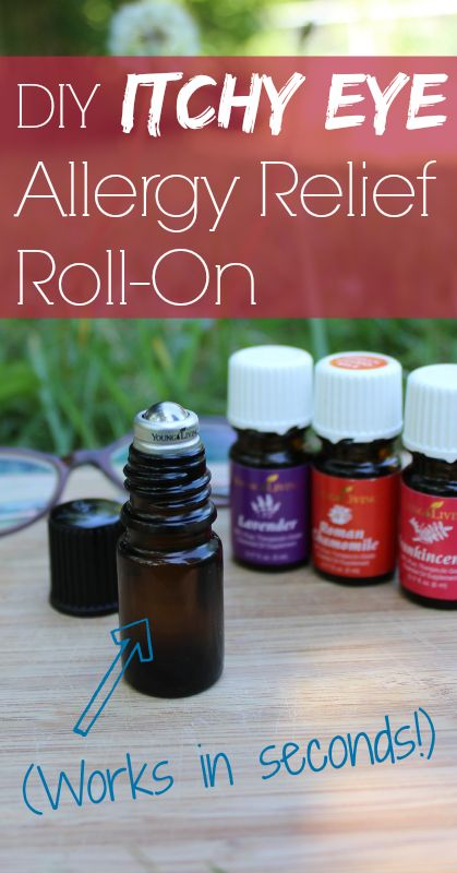 Itchy eyes? This works instantly to relieve eye allergy symptoms! And you can make it yourself.
