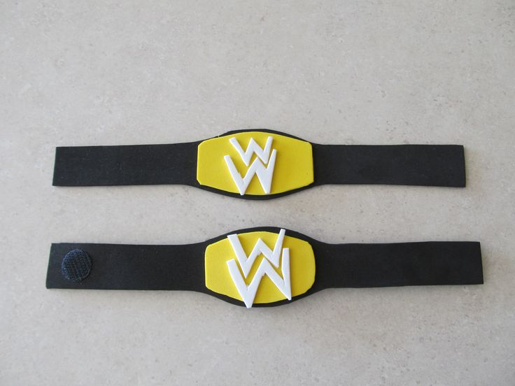 Create Mini Wrestling Belts With Craft Foam Use Velcro To
