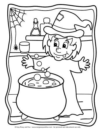 halloween coloring pages halloween crafts and activities for kids rh pinterest com