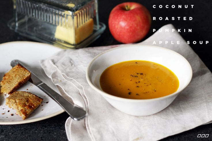 A Twist on an Old Favourite: Coconut Roasted Pumpkin and Apple Soup - Move Nourish Believe