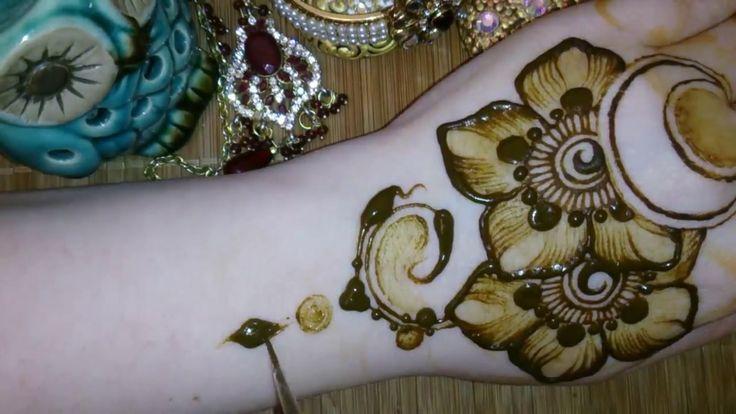 Как рисовать мехенди mehendi хна henna