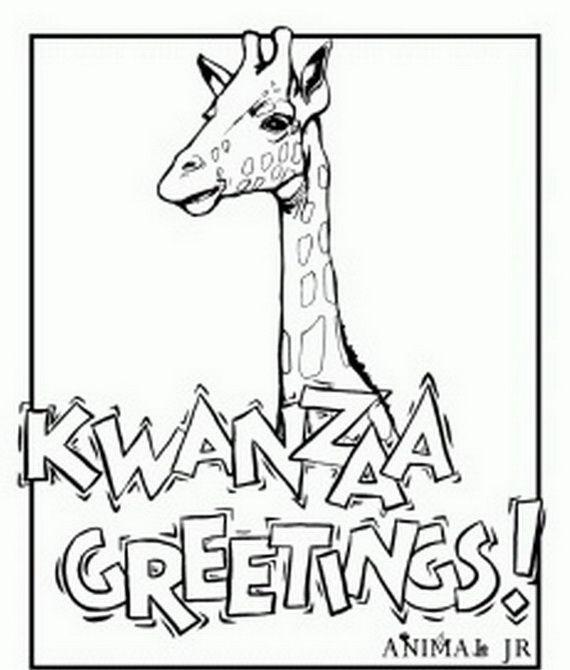 kwanzaa coloring sheets | December Holiday Kwanzaa coloring pages_45