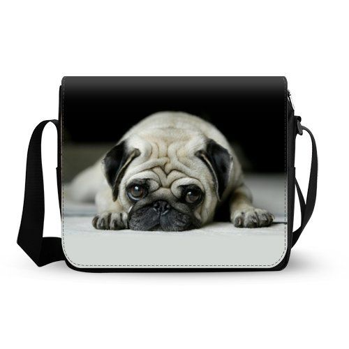 Style Cool pug Oxford Fabric Messenger Cross Body Shoulder Bag Travel Bag -- You can find more details by visiting the image link. (This is an Amazon Affiliate link and I receive a commission for the sales)