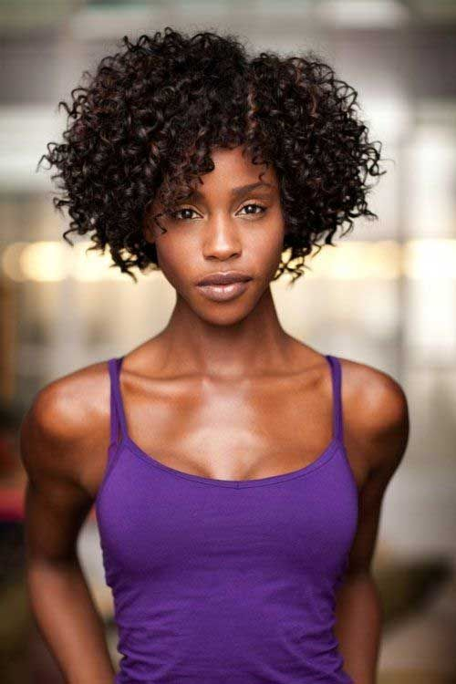 Astonishing 1000 Ideas About Short Curly Weave Hairstyles On Pinterest Short Hairstyles For Black Women Fulllsitofus