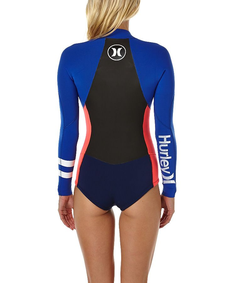 HURLEY FUSION 2X2MM LS SPRING WETSUIT - BLUE
