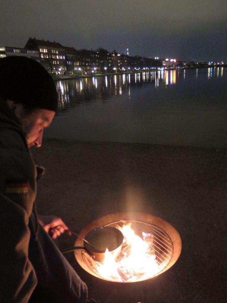 November 2014 by the lakes in Copenhagen.