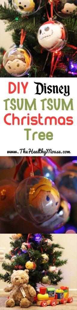 Create your own Disney Tsum Tsum Christmas Tree!