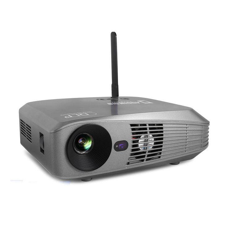 sodialr 4k 3d wifi dlp mini portable full hd 1080p home theater projector