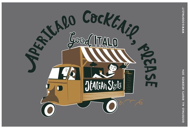 AperItalo Cocktail, Please.  #GoodItalo #cocktail #italy #postcards