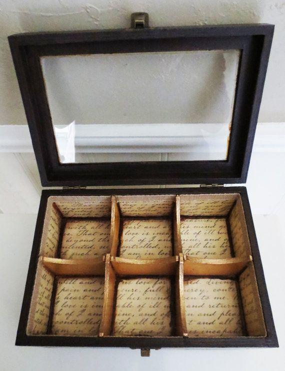 Victorian Style Tea Box by JaysRadicalCreations on Etsy