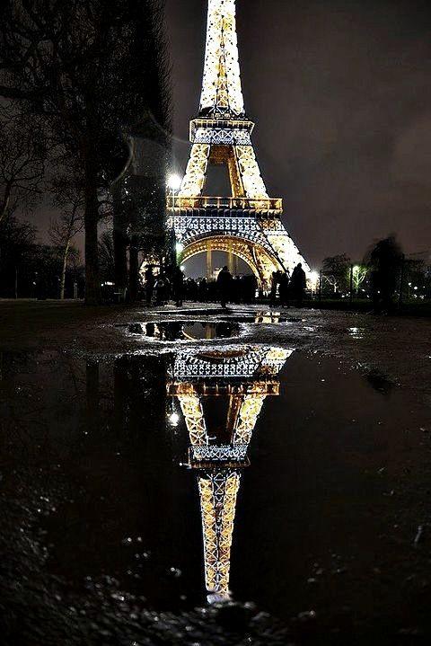 Paris at night