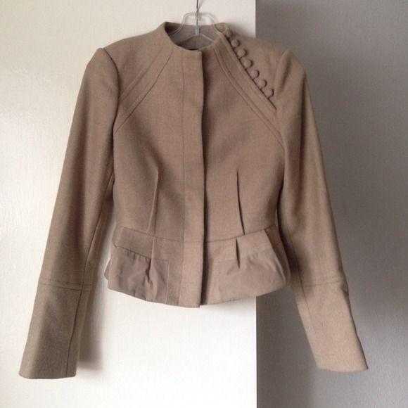 HP Fabulous Favorites Party  BCBGMaxAzria Jacket Long sleeve, camel color BCBGMaxAzria Jackets & Coats