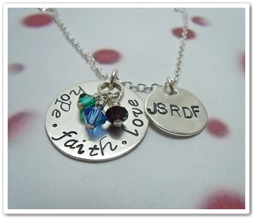 Supporting Joubert Syndrome from charitable creations jewelry