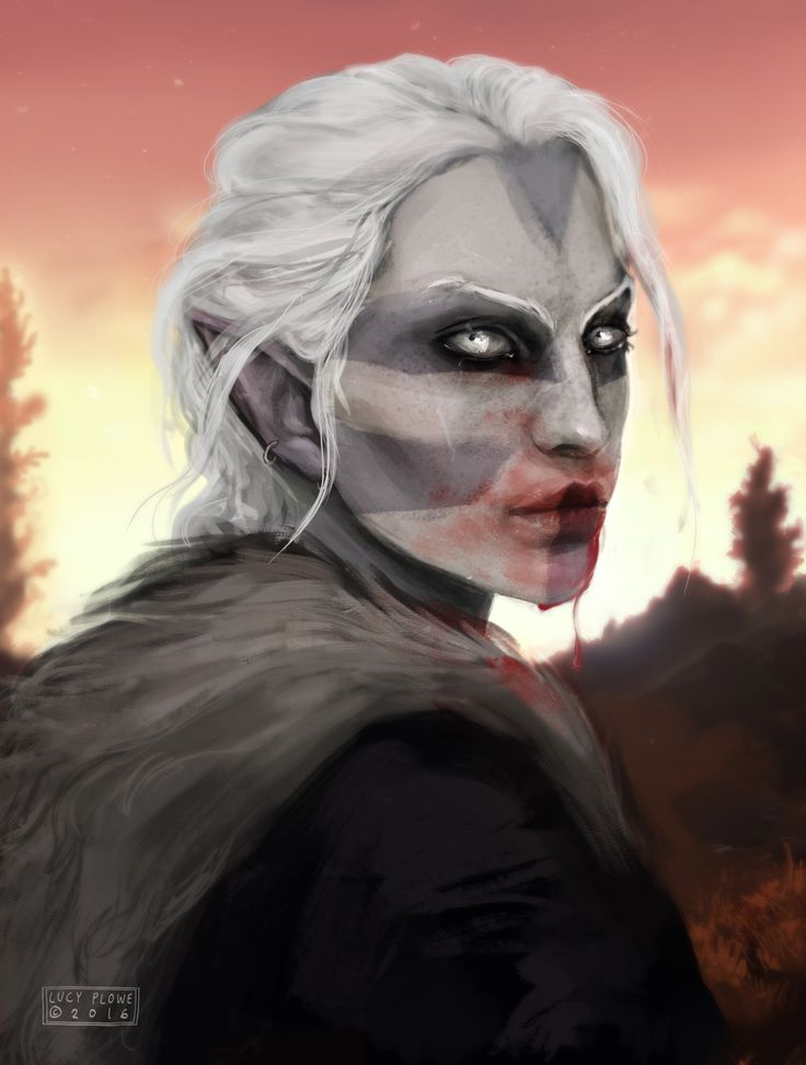 "masseffxt: ""back w/ a new skyrim character ! """