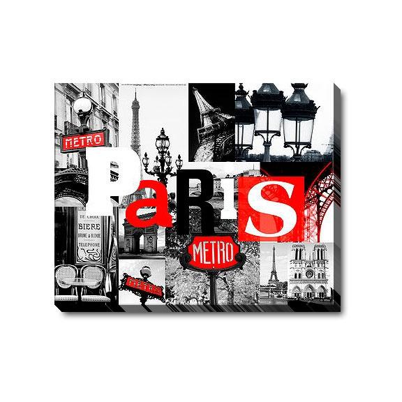 Magazin online de tablouri si postere de arta, tablouri canvas decoratiuni pictura moderna abstract picturi religioase reproduceri de arta fotografii - CHILIPIRURI - Paris Collage