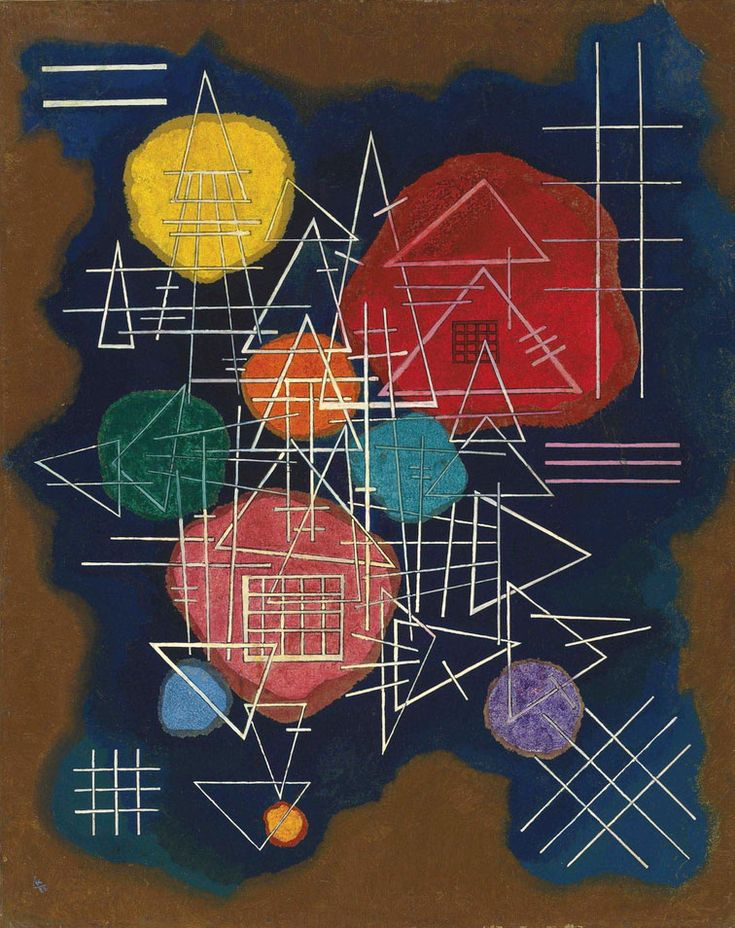 Wassily Kandinsky - Veiled Glow, 1928