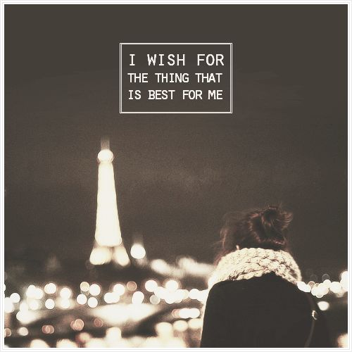 Me too, I wish for the thing that's best for me too!!! #annaandthefrenchkiss Xoxo F