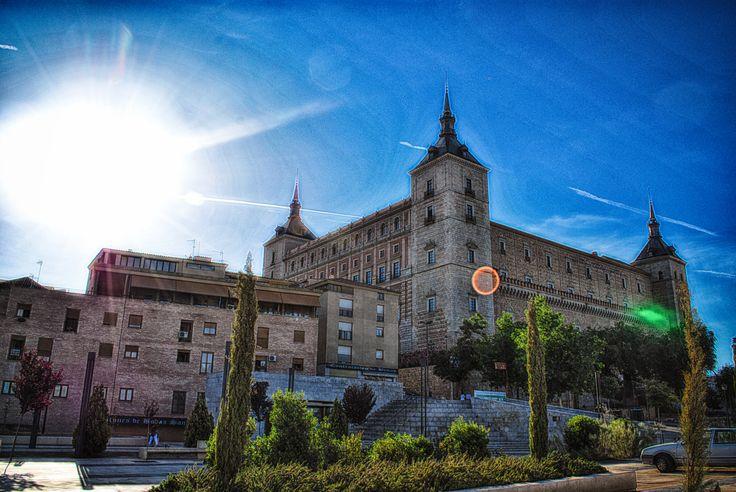 Toledo against sun