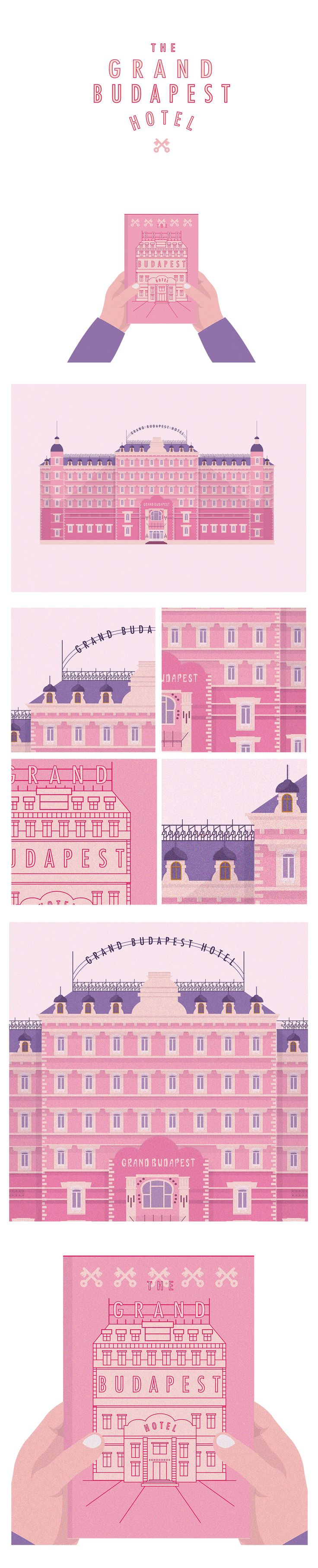 Grand Budapest Hotel on Behance