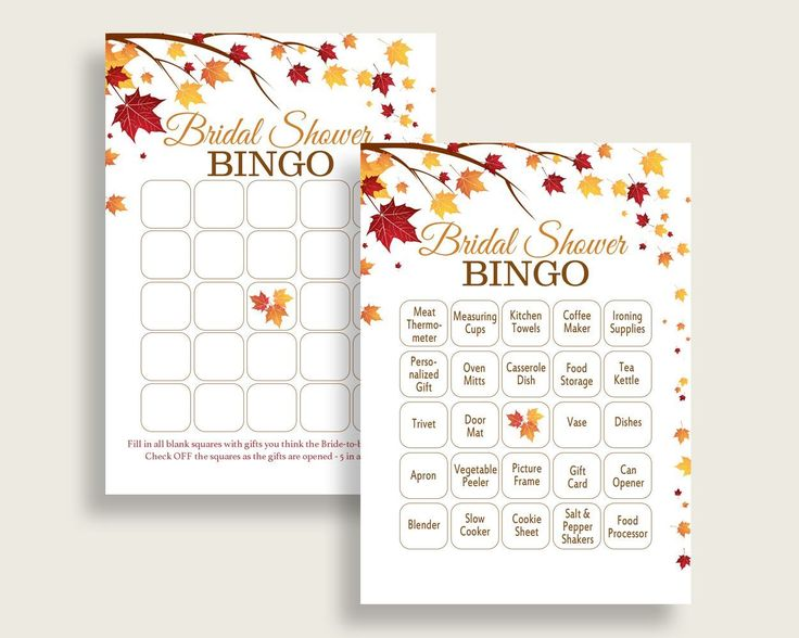Bingo Bridal Shower Bingo Fall Bridal Shower Bingo Bridal Shower Autumn Bingo Brown Yellow party plan party ideas party planning YCZ2S #bridalshower #bride-to-be #bridetobe