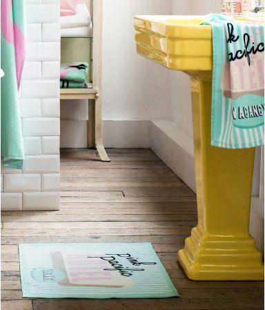 awesome sink  Yellow Flamingo Bathroom