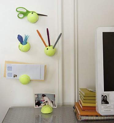How to Recycle: Repurposed Tennis Balls