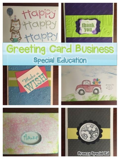 How to Set Up a Student Greeting Card Business for Students with Special Needs