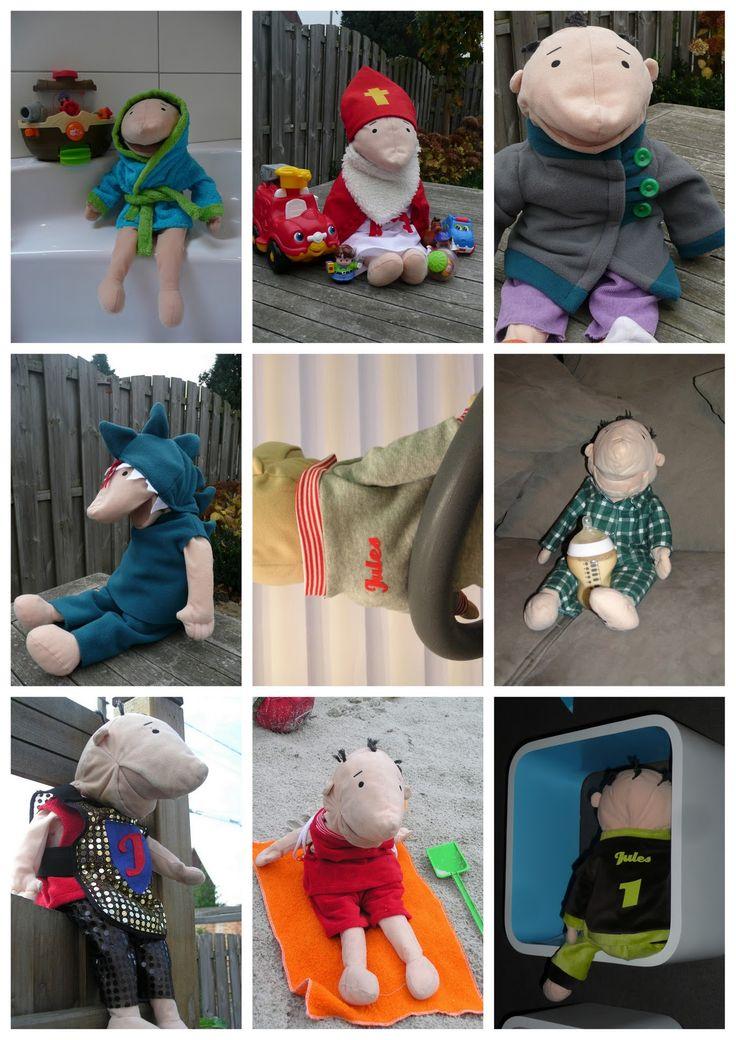 DIY kleren voor klaspop Jules