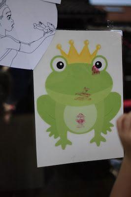 Tante Bet, prinsessenfeest, Kus de kikker ipv ezeltje prik/ princess party, kiss the frog