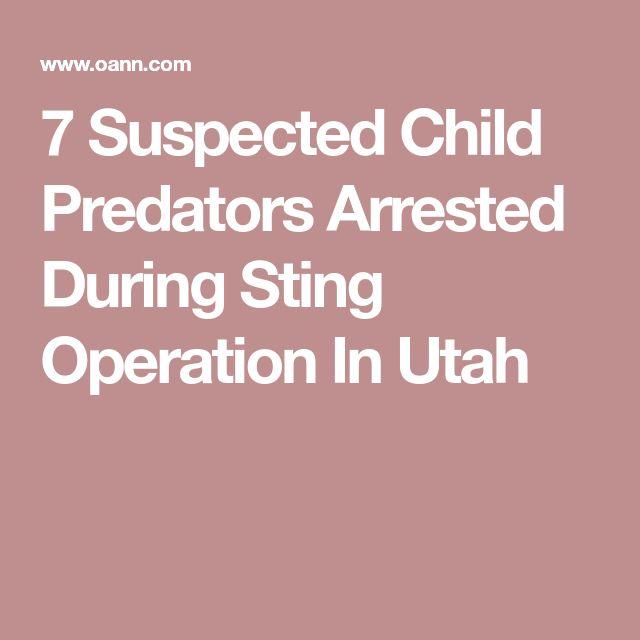 7 Suspected Child Predators Arrested During Sting Operation In Utah