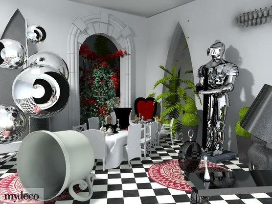 Alice In Wonderland Interior Design Google Search