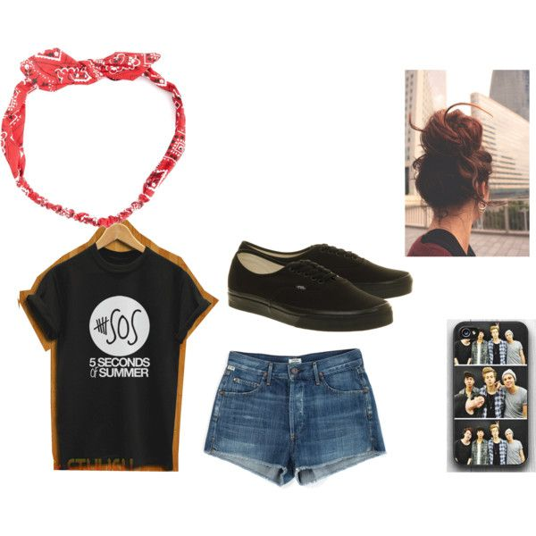 """""""5SOS Concert Outfit #4"""" by megand1277 on Polyvore Find me on Polyvore"""
