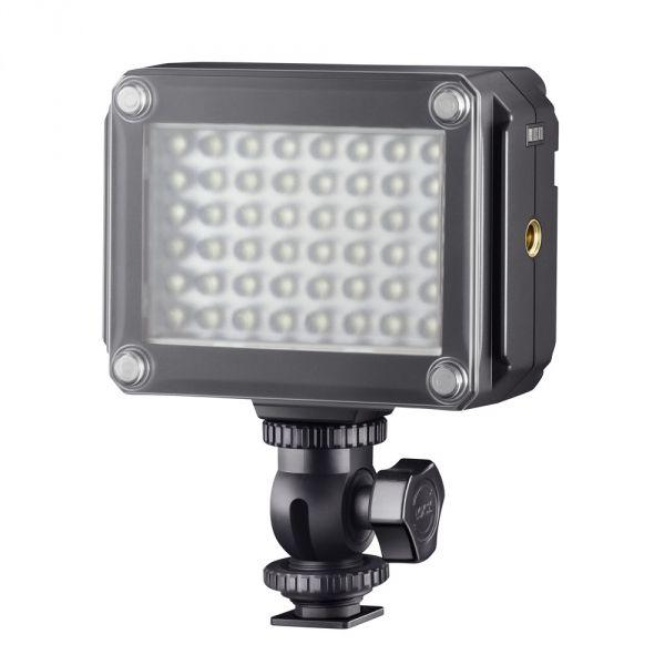 #Metz Mecalight LED-320 #videólámpa.  Színvisszaadási index: 85-nél kisebb  Sugárzási szög: 65 fok  Megvilágítás: 320 Lux
