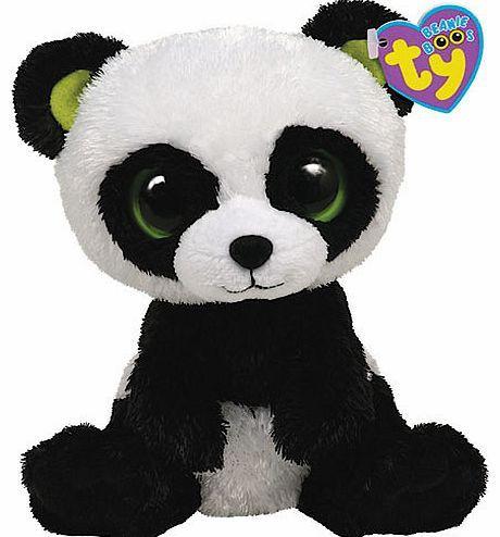 Beanie Boos Ty Beanie Boos - Bamboo the Panda Give the Ty Beanie Boos Bamboo the Panda a big bear hug. Just like his name suggests, this cute panda bear loves nothing more than eating bamboo ndash