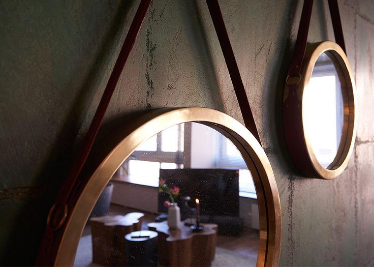 LS mirror round – Maak van je muur een blikvanger! - Goossens wonen & slapen