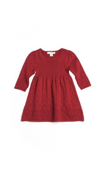 Tulip Knit Dress