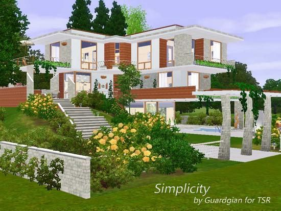 1000 images about the sims3 best houses on pinterest for Best house designs sims 3