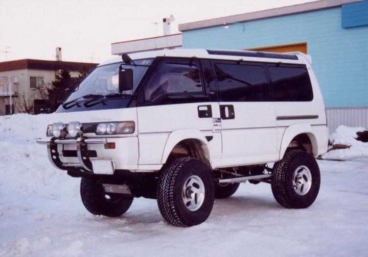 Mitsubishi L300 4x4 Dream garage Pinterest 4x4