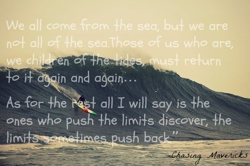 jay moriarity #we all come from the sea