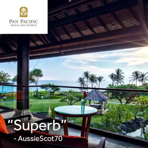 TripAdvisor member AussieScot70 shared a lovely review about his recent stay at Pan Pacific Nirwana Bali Resort. Read all about it at http://bit.ly/ThePerfectStay. #tripadvisor #panpacificbali #bali #resort #stay #holiday #vacation