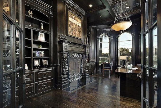 Interior Design Style: Gothic office/study ✦ Characteristics ...